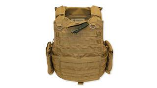 BLACK Releasable Body Armor Vest (RBAV)