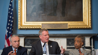NYPD Union Bans Mayor From Funerals